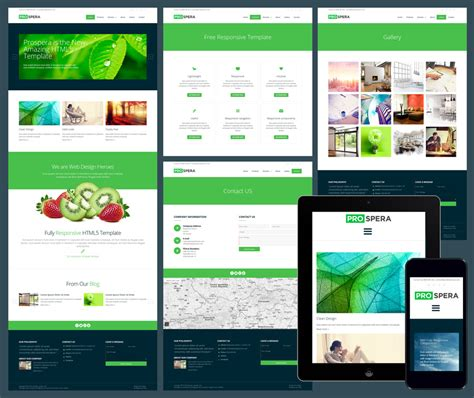 17 Free Amazing Responsive Business Website Templates