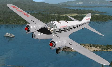 Avro Anson C12 Civil for FSX