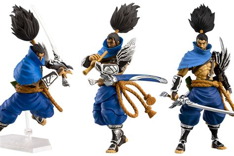 The new Yasuo figure coming to Riot's merch shop is SO
