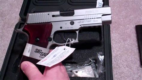 SIG SAUER P220 ELITE STAINLESS - 45ACP - YouTube