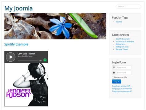 How to Embed Spotify Songs in Joomla - Joomlashack